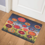 Flower CLM250625 Door Mat