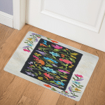 Flower CLA25110411Q Door Mat