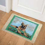 German Shepherd CLA1810290Q Door Mat
