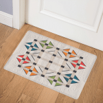Geometric CLA1510185Q Door Mat