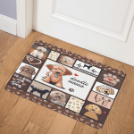 Goldendoodle Dog ABC07111173 Door Mat