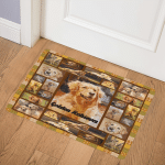 Golden Retriever BBB191113SM Door Mat