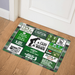 Golf girl CCC19101511 Door Mat