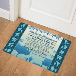 Grandson I Love You My Dear Grandson CLA0211209Q Door Mat