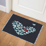 Heart CLP260619 Door Mat