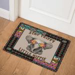 Hippie Elephant TD20110233 Door Mat