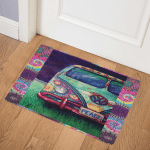 Hippie Bus CL2100232MDQ Door Mat