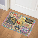 Hippie ABC22103608 Door Mat