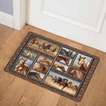 Horse BBB221029 Door Mat