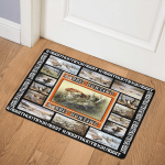 Hunting Rabbit Hunting Art CL16110230MDQ Door Mat