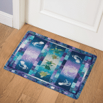 Jellyfish And Turtle CLA0711488Q Door Mat