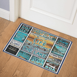 Life Is Better At The Lake ABC07111358 2 Door Mat