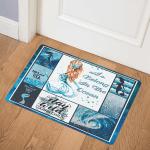 Mermaid ABC07113088 Door Mat