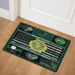 Military Police Courtesy Loyalty Service GS CL DT0511 Door Mat