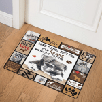 Miniature Schnauzer ABC271110 Door Mat