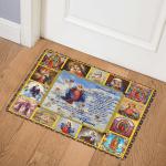 Mother Mary Fleece ABC23101100 Door Mat