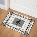 Music Piano Keyboard CLA0710562Q Door Mat