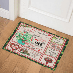 My Dear Daughter In Law, Life Gave Me The Gift Of You CL14100342MDQ Door Mat