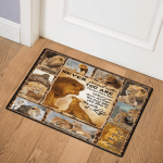 Never Forget Who You Are Lion ABC07111311 Door Mat