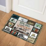 Not All Who Wander Are Lost Go Hiking CL08110310MDQ Door Mat