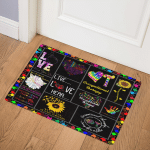Occupational Therapy ABC23101003 Door Mat