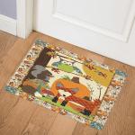 Owl Squirrel Fox CLA2810361Q Door Mat