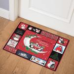 Penguin Christmas CL15100273MDQ Door Mat