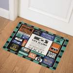 Photography Is My Therapy PKD200696 Door Mat
