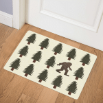 Pine Tree With Big Foot TD19110186 Door Mat