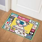 Pitbull Dog CL15100279MDQ Door Mat