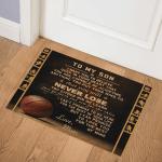 Rectangle Basketball Mom To Son CLA1010457Q Door Mat