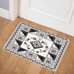 Red Flower CLA2210384Q Door Mat