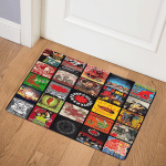Red Hot Chili Peppers LB0310340Q Door Mat