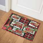 Red Truck Christmas CCC25108283 Door Mat