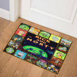 Rick and Morty LB0410520Q Door Mat
