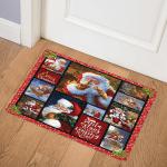Santa Christmas ABC07112123 Door Mat