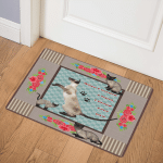 Siamese Cat CL28110129MDQ Door Mat