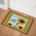 Sunflower Cat CLA1410572Q Door Mat