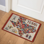 Texas CLP190678 Door Mat
