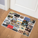 The Beatles HA2811006Q Door Mat