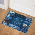 The Polar Express HT2611009Q Door Mat