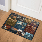 The Lord of The Rings LB0410579Q Door Mat