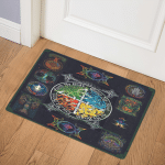 The Four Elements Pagan Witch ABC24106397. (1) Door Mat