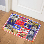 The Day God Made Shihtzus ABC07114119 Door Mat
