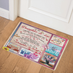 To My Daughter19110050 19110050 Door Mat