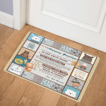 To My Amazing Grandson Little Bear ABC07111096 Door Mat
