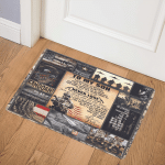 To My Son From Mom US Army ABC07113096 Door Mat