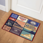 Virginia CL14100538MDQ Door Mat