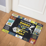 Volleyball CLH0511637Q Door Mat