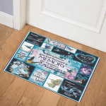 When Someone You Love Becomes A Memory The-Memory-Becomes-A-Treasure Hummingbird ABC07111152 Door Mat